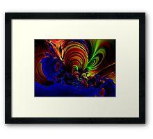 """Ocean Storm"" Framed Print"