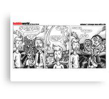 BubbleWorld Volume 1 Canvas Print