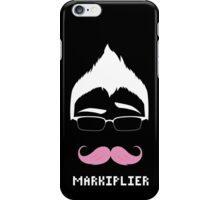 Markiplier/Warfstache (White Logo Eyebrow) iPhone Case/Skin