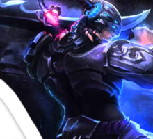 Master Yi's sex appeal Sticker