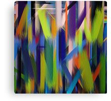 Paint Color Splatter Brush Stroke #4 Canvas Print
