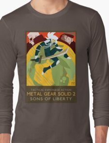 Metal Gear Solid 2: Sons of Liberty Long Sleeve T-Shirt