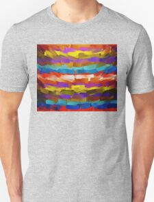Abstract Paint Color Splatter Brush Stroke #4 T-Shirt