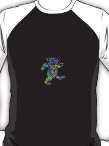 Grateful Dead Dancing Bear Trippy T-Shirt