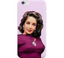 Elizabeth Taylor - Colour iPhone Case/Skin