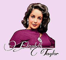Elizabeth Taylor - Color by Everett Day