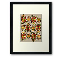 Fabulous Turtles Framed Print