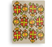 Fabulous Turtles Metal Print