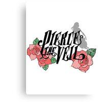 Pierce The Veil, Roses Logo 2 Canvas Print