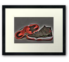 1995 O.G Nike Air Jordan XI Framed Print