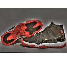 1995 O.G Nike Air Jordan XI Photographic Print