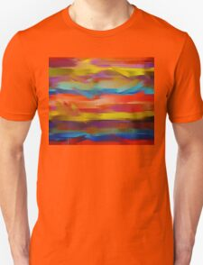 Abstract Paint Color Splatter Brush Stroke #5 T-Shirt