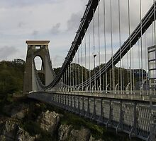 Clifton Suspension Bridge by cathabrown