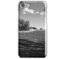 White Fence iPhone Case/Skin