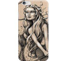 Mermaid with Rope iPhone Case/Skin