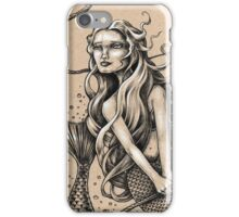 Mermaid with Rope iPhone Case/Skin