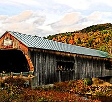 Bartonsville Covered Bridge by DJ Florek