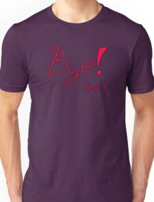 Outro Song (in Red)!  Unisex T-Shirt