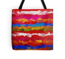 Paint Color Splatter Brush Stroke #7 Tote Bag