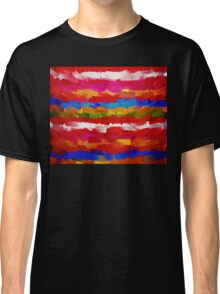 Paint Color Splatter Brush Stroke #7 Classic T-Shirt