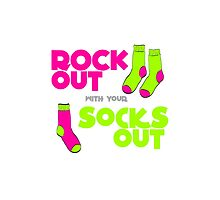 Rock Out with your Socks Out by VixToons