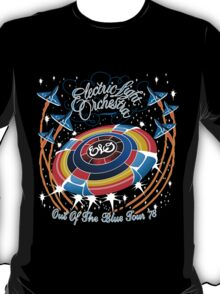 E.L.O. Out of the Blue TOUR 78' Shirt T-Shirt
