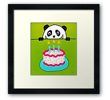 Now It's A Party! Framed Print
