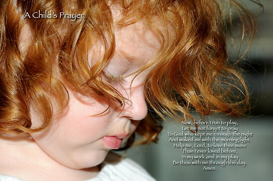 A Child's Prayer by Bonnie T.  Barry