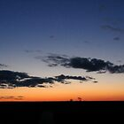 Lightning Ridge sunset by William Mills