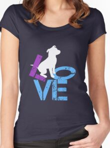 Love for Dogs Women's Fitted Scoop T-Shirt