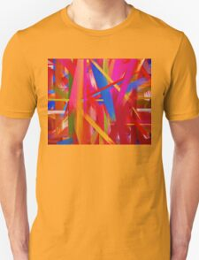 Paint Color Splatter Brush Stroke #8 T-Shirt