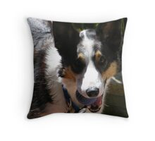 I'm Waiting !!! Throw Pillow