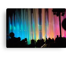 Watching Disney's World of Color Canvas Print