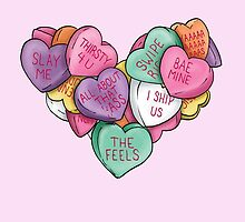 Candy Hearts - Internet Edition by StevieNYC