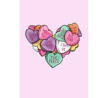 Candy Hearts - Internet Edition Photographic Print