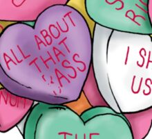 Candy Hearts - Internet Edition Sticker