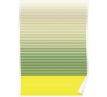 zen stripes Poster