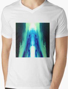 Sky Ice Mens V-Neck T-Shirt