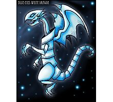 The Blue-Eyes White Dragon Photographic Print