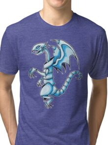 The Blue-Eyes White Dragon Tri-blend T-Shirt