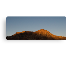 Sunrise at Zions Canvas Print
