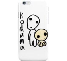 Princess Mononoke's Kodama iPhone Case/Skin