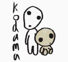 Princess Mononoke's Kodama by RainbowUnicorns