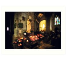St. Malo Cathedral Art Print
