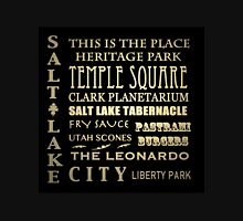 Salt Lake City Utah Famous Landmarks Unisex T-Shirt
