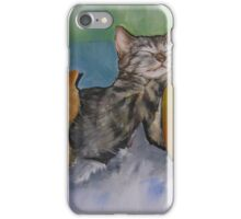 A Cuddle of Cats! iPhone Case/Skin