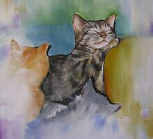 A Cuddle of Cats! by Jane Delaford Taylor