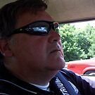 Portrait of a Wanna be Driver!! by Larry Llewellyn
