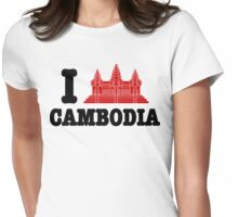 I Angkor (Love) Cambodia Womens Fitted T-Shirt