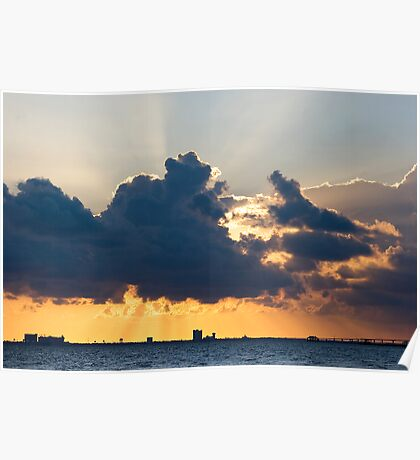 Rays over Biloxi Poster